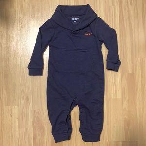 DKNY Baby Footless Bodysuit Pyjama Outfit Onesie